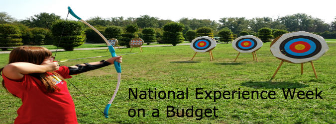 National Experience Week on a Budget