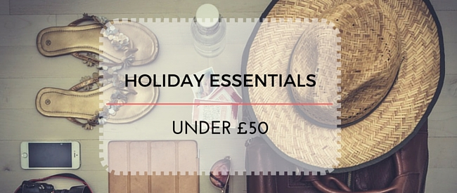 Holiday Essentials Under 50 Pounds