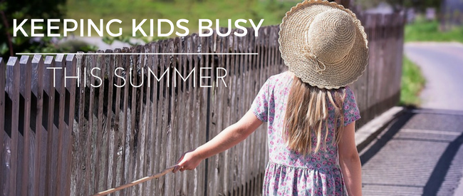 Keep Kids Busy for Summer Without Blowing You…